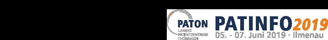 Besuchen Sie unserem Stand auf der PATINFO2019 in Ilmenau.
